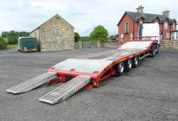 Montracon<br>13.6m Machinery trailer